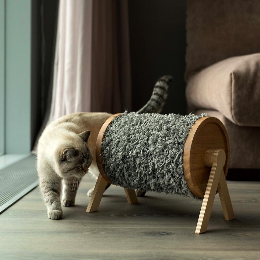 Для изготовления дралки можно использовать сизаль, ковролин, дерево