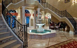 Кованые перила для лестницы: красота металлических узоров