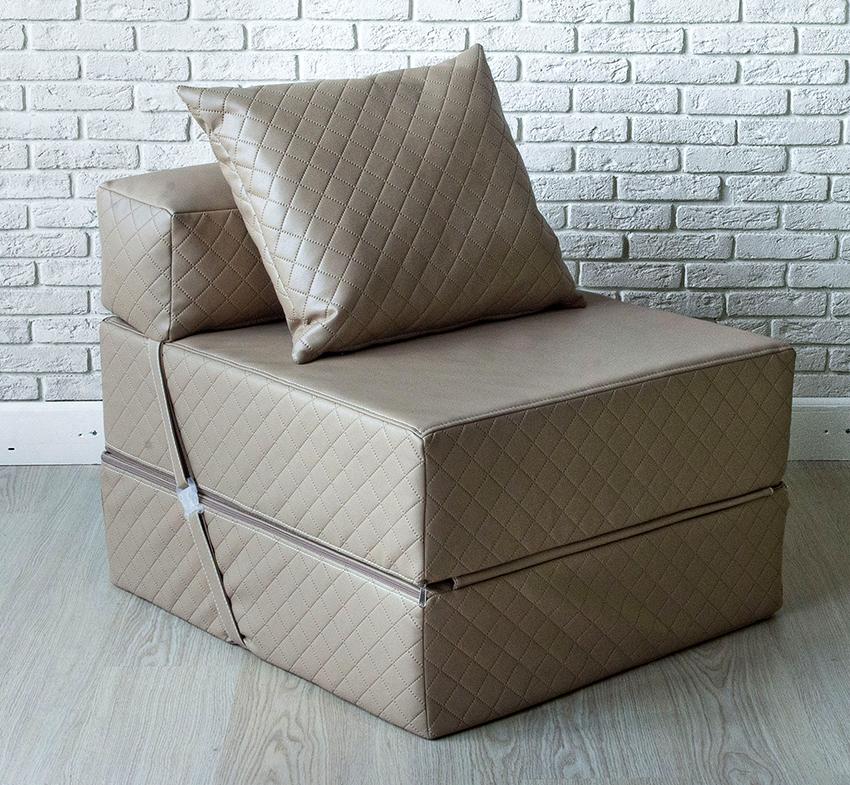Кресло-кровать для взрослого человека должно быть не уже 60-70 см