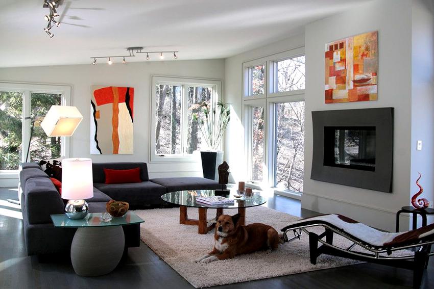 Модульные диваны для гостиной: нетривиальная и функциональная мебель
