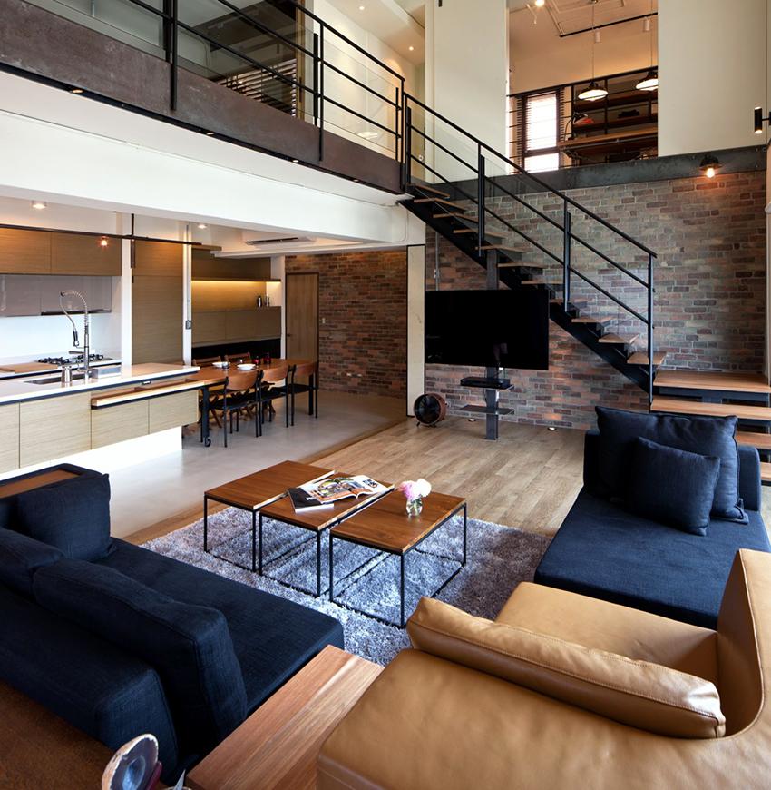 Благодаря модульному дивану можно в любой момент сменить обстановку в комнате