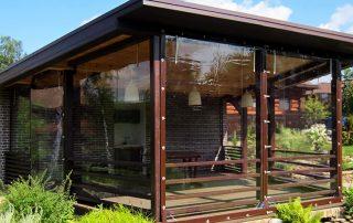 Мягкие окна для беседок, веранд и террас: тандем эстетики и функциональности