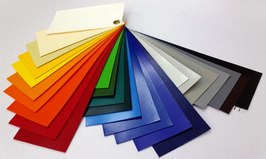 Для окантовки мягких окон используют специальный материал, который может быть любого цвета