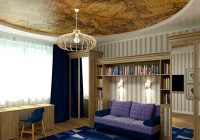 Тканевые потолки имеют более презентабельный внешний вид