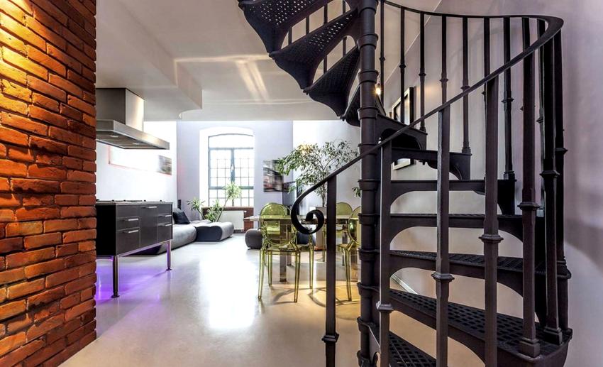Привлекательность перил для лестниц зависит от формы, способа монтажа, материала и расстояния между внутренними элементами