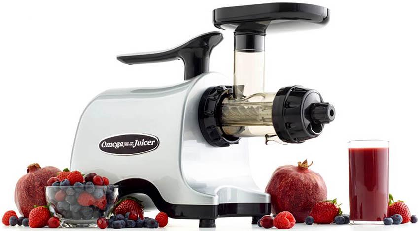 Соковыжималки Omеga TWN32 справляются как с мягкими, так и твердыми плодами