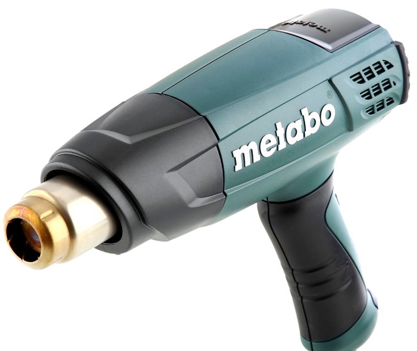 Модель строительного фена Metabo H 16-500 характеризуется высоким качеством и отличными рабочими параметрами
