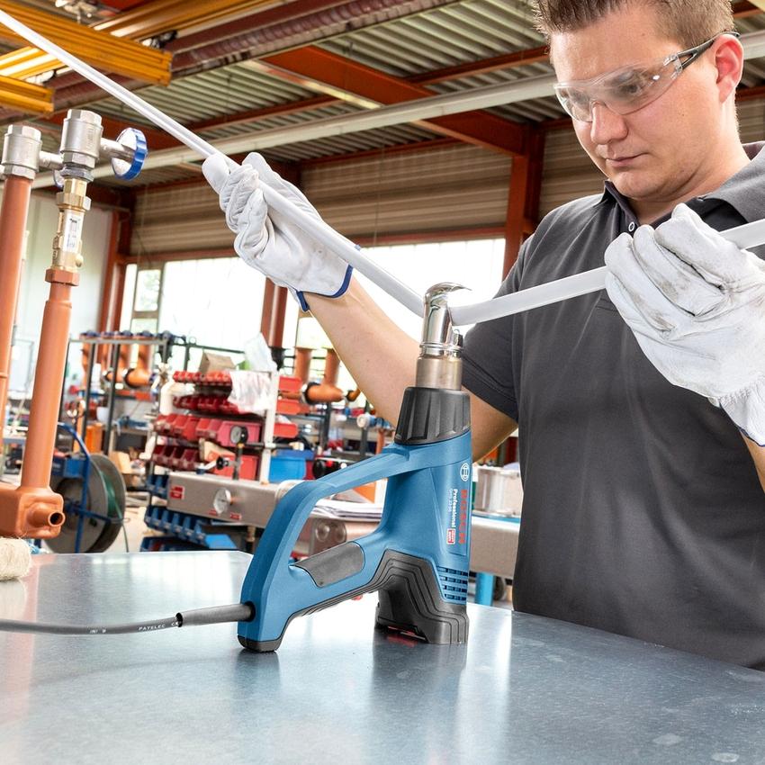 Строительные фены от компании Bosch всегда пользовались огромной популярностью