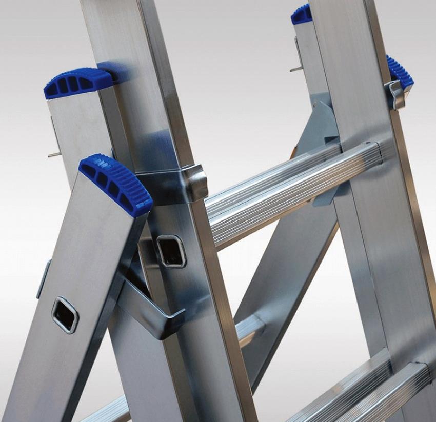 Алюминиевая стремянка Elkop ALW 404 имеет доступную стоимость и высокое качество сборки