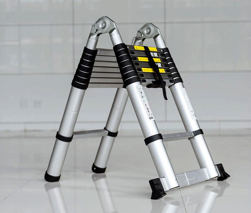 Телескопические стремянки Shtock пользуются огромной популярностью