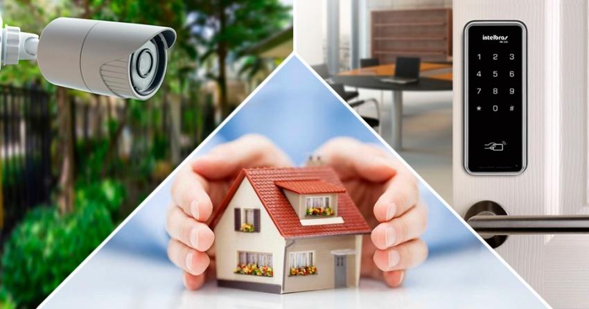 Благодаря Умному дому обеспечивается безопасность жилища