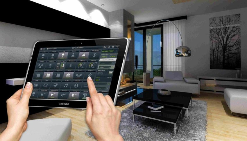 Функционал дома доступен и на планшете, благодаря чему контролировать Умный дом можно находясь далеко за пределами своего жилища