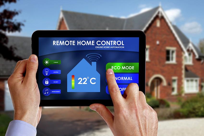Система Умный дом может вести наблюдение за зданием внутри и снаружи