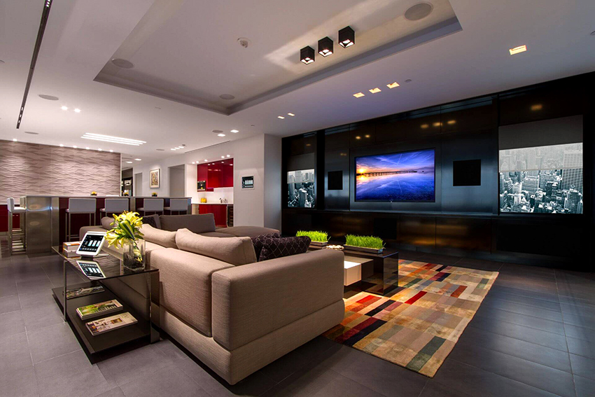 Для удобства можно полностью автоматизировать системы вентиляции и освещения в квартире