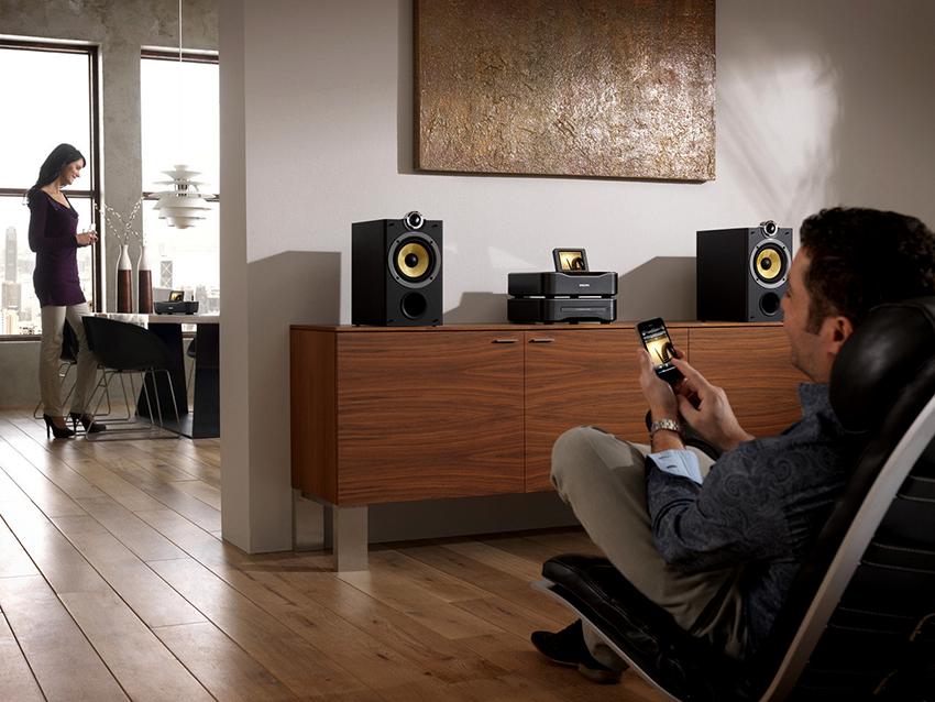 Функция мультирум позволяет управлять аудио- и видеосистемами из любого уголка квартиры