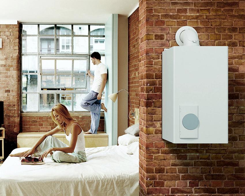 Система может включать обогрев в помещении перед утренним пробуждением жильцов