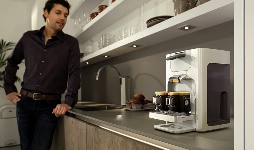 Для экономии времени на приготовлении кофе, этот процесс можно автоматизировать
