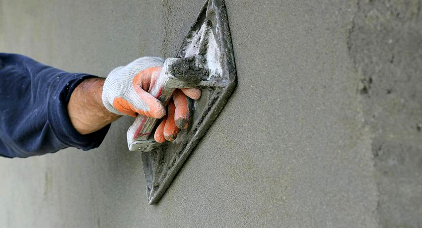 Железнение своими руками можно выполнять на новые и старые бетонные поверхности