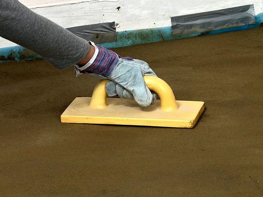 Железнение необходимо проводить на этапе строительства или при ремонтных работах