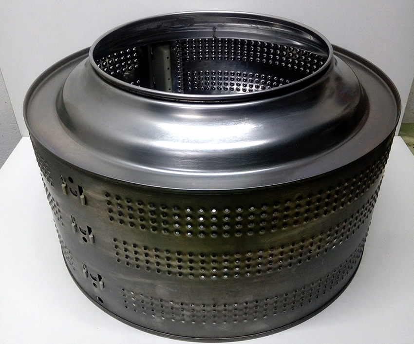 Самостоятельно соковыжималку можно сделать из барабаны стиральной машины