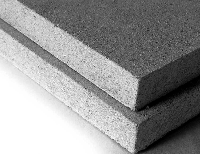 ГВЛ-листы используют не только для пола, но также для облицовки потолков и стен