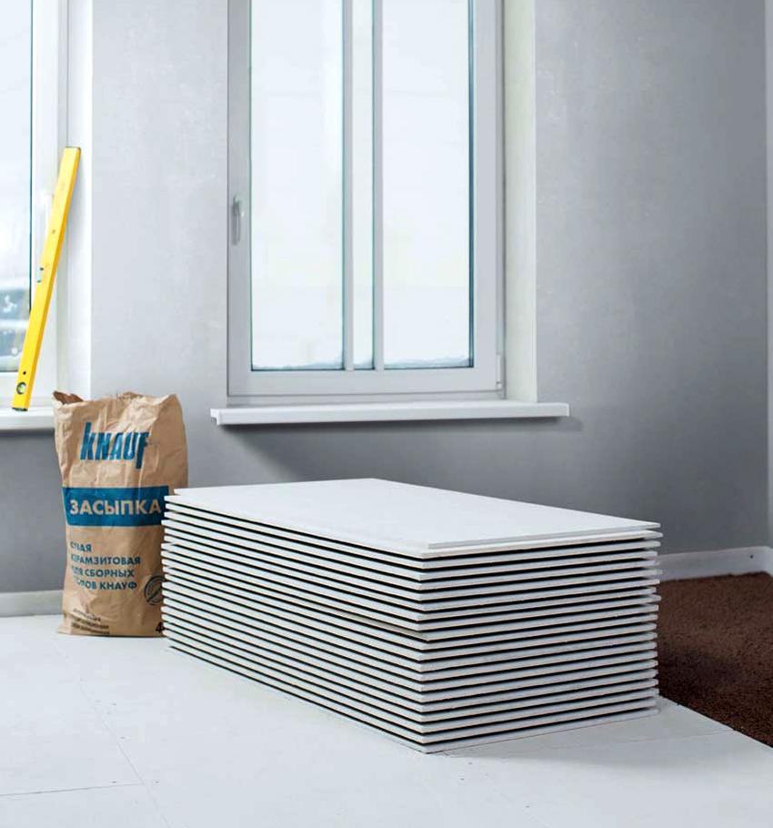 ГВЛ-листы подходят для использования как в отапливаемых, так и неотапливаемых помещениях