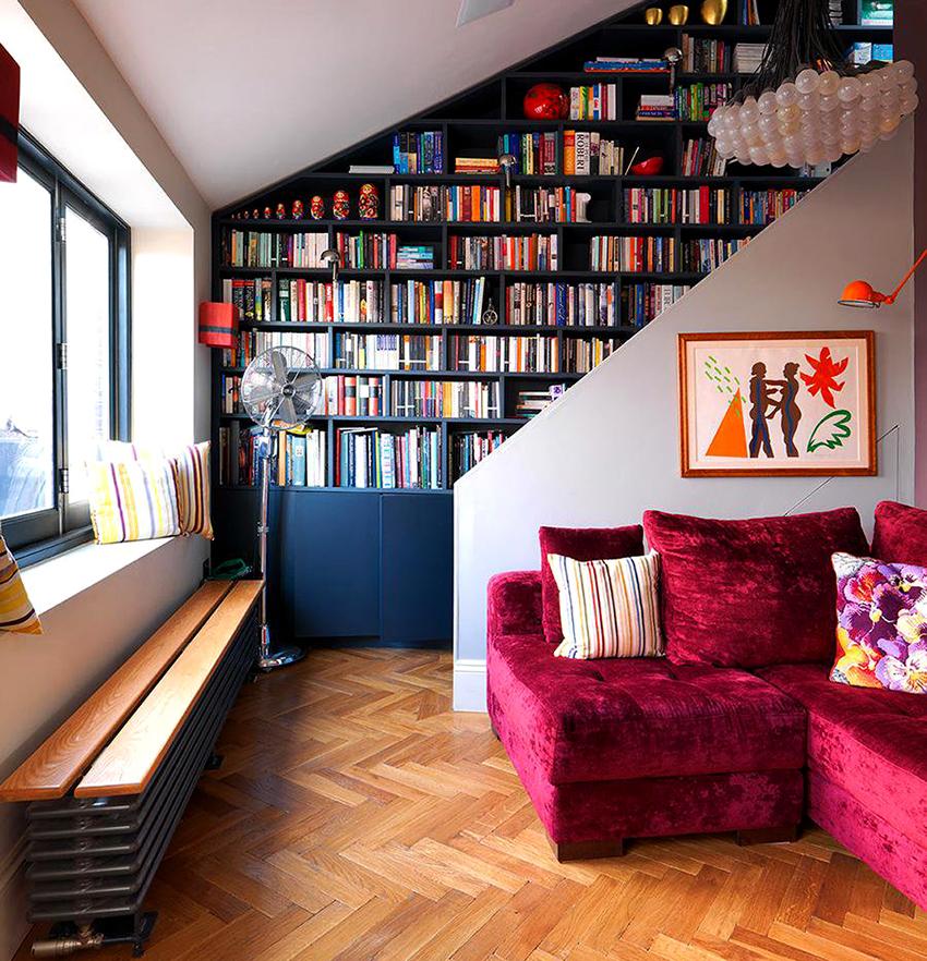 Шкаф должен вмещать все имеющиеся в доме книги