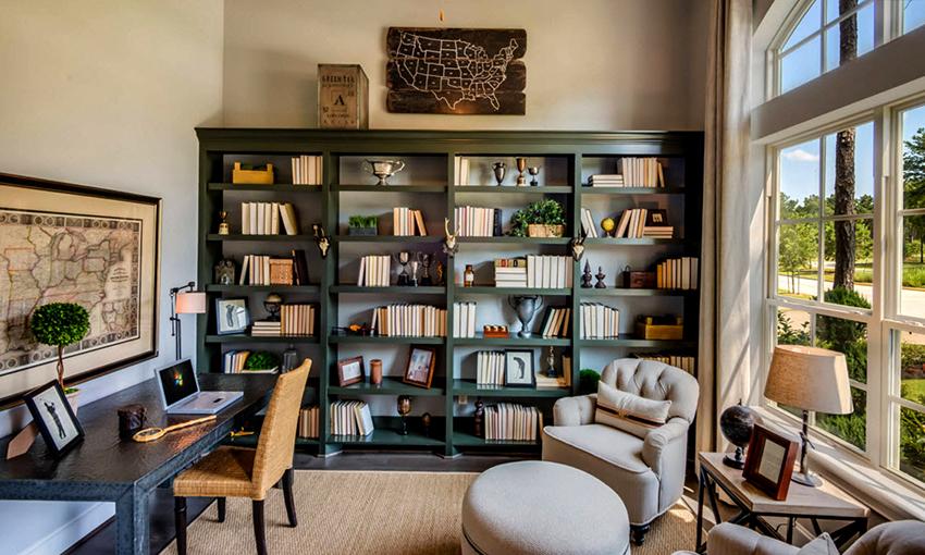 В стиле модерн приветствуется элегантная и качественная мебель