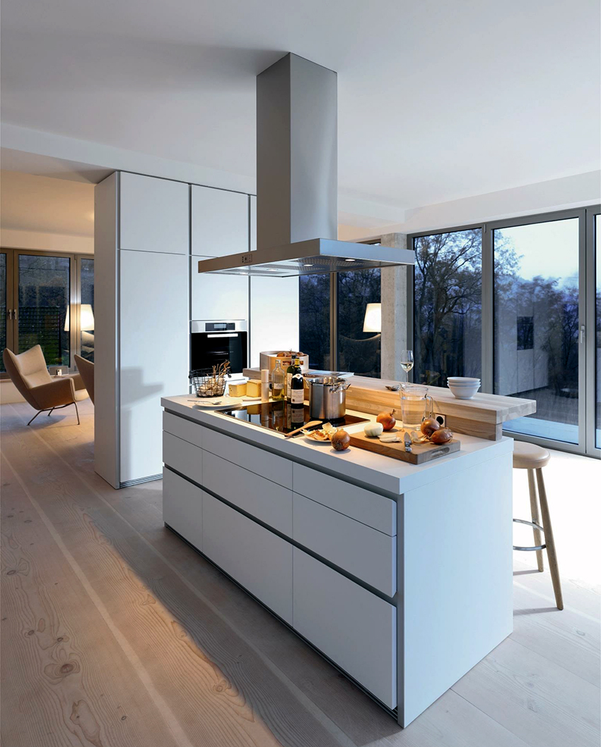 Aufbauleuchten Küche