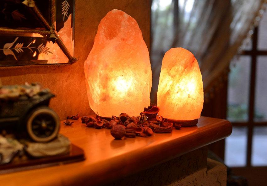 Солевые лампы считаются безопасными, если только нет индивидуальной непереносимости