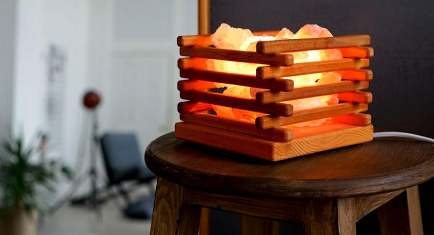 Соляная лампа: природная здравница в собственном доме