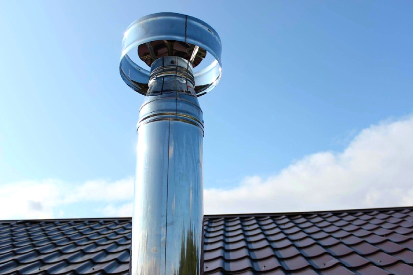 Дефлектор ЦАГИ состоит из стакана, цилиндрического корпуса, зонтообразной крышки и стоек крепления
