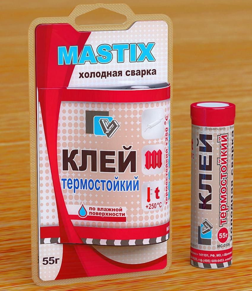 Термостойкий клей для металла Mastix