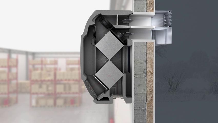 Калорифер можно использовать в температурном диапазоне от -30 до 50°С