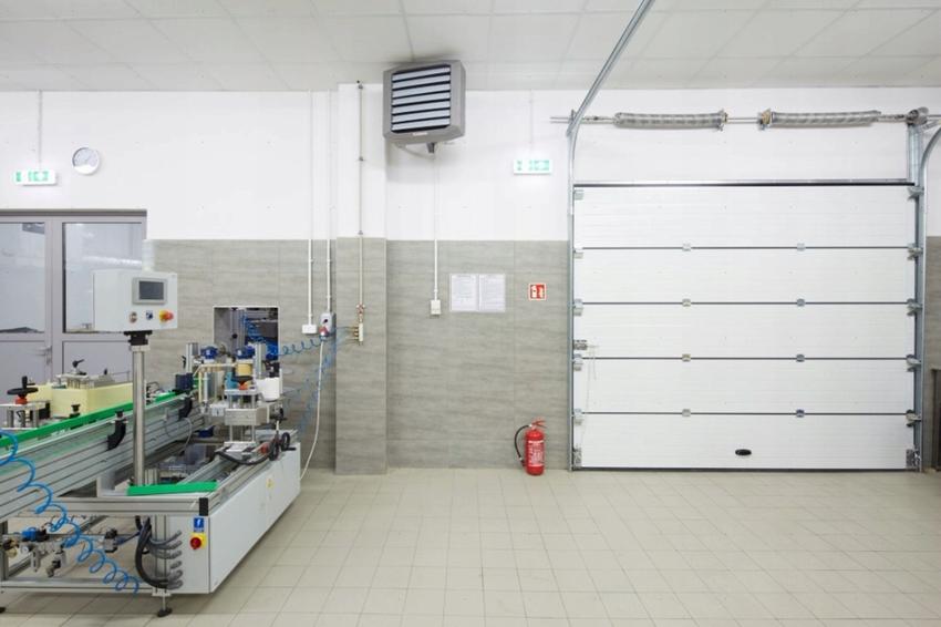 Калорифер - распространённый вариант для обогрева гаража