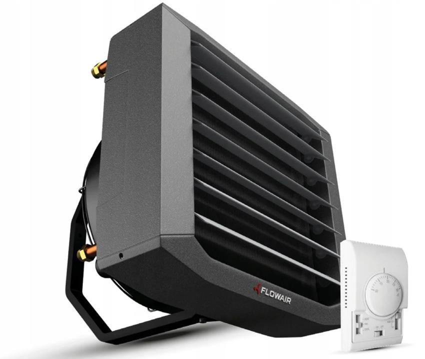 Электрический тепловентилятор с панелью управления Flowair