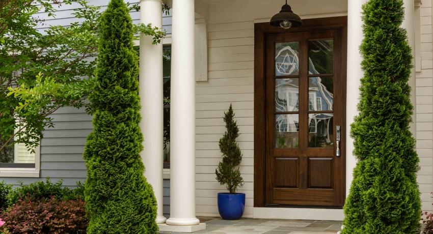 Накладка на входную дверь: простое и элегантное обновление полотна