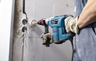 Установка подрозетников в бетонные стены и тонкие перегородки из гипсокартона