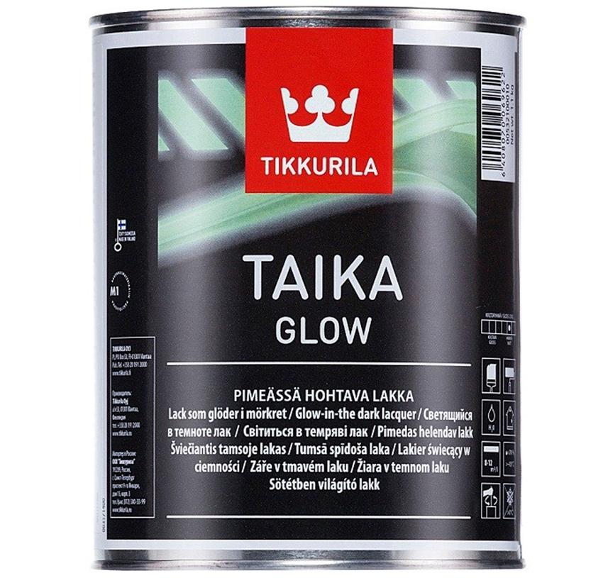 Лак Tikkurila Taika Glow со светонакопительным эффектом