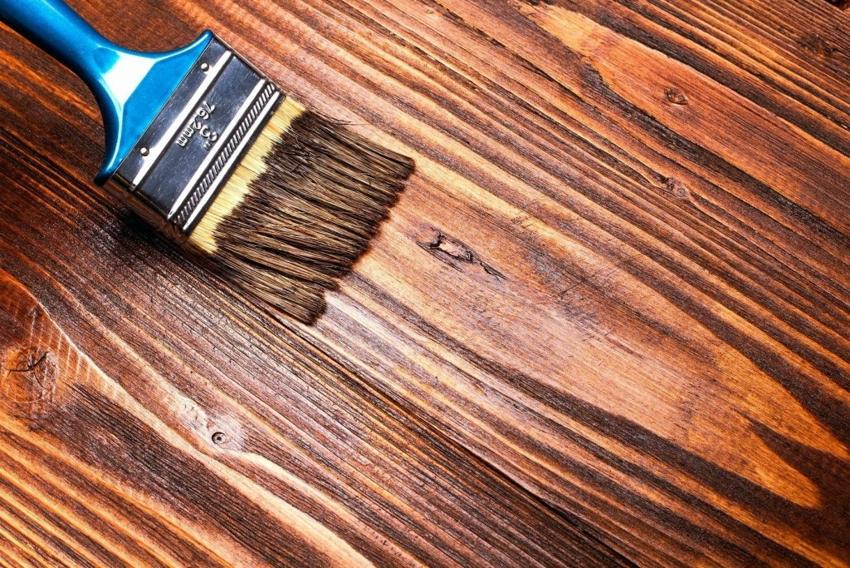 Полиуретановый состав создает на поверхности пола красивую эффектную текстуру