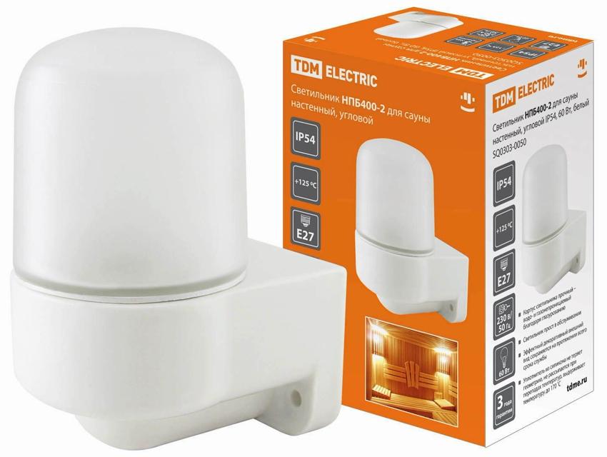 Керамический светильник для сауны TDM Electric