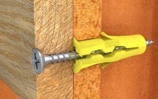 Как установить в стене дюбель: практические рекомендации по монтажу изделия