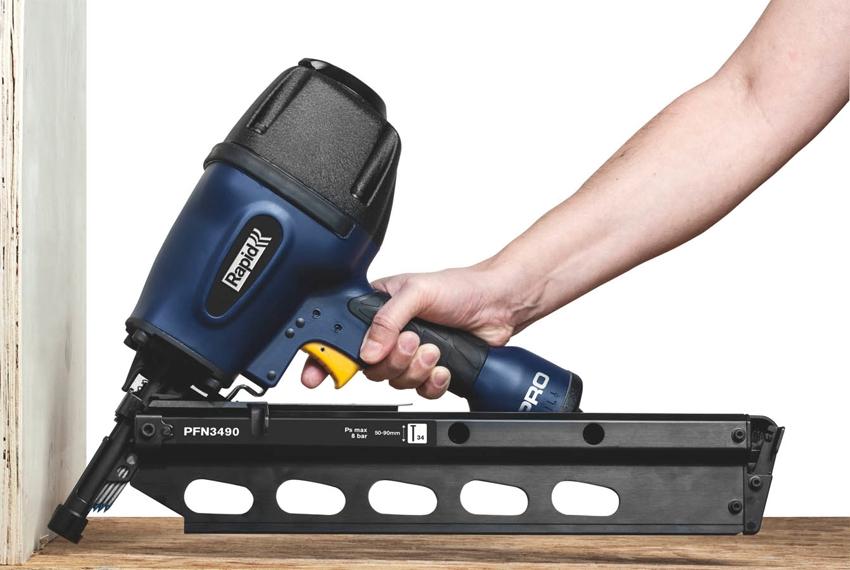 Профессиональный пневматический степлер Rapid PFN3490