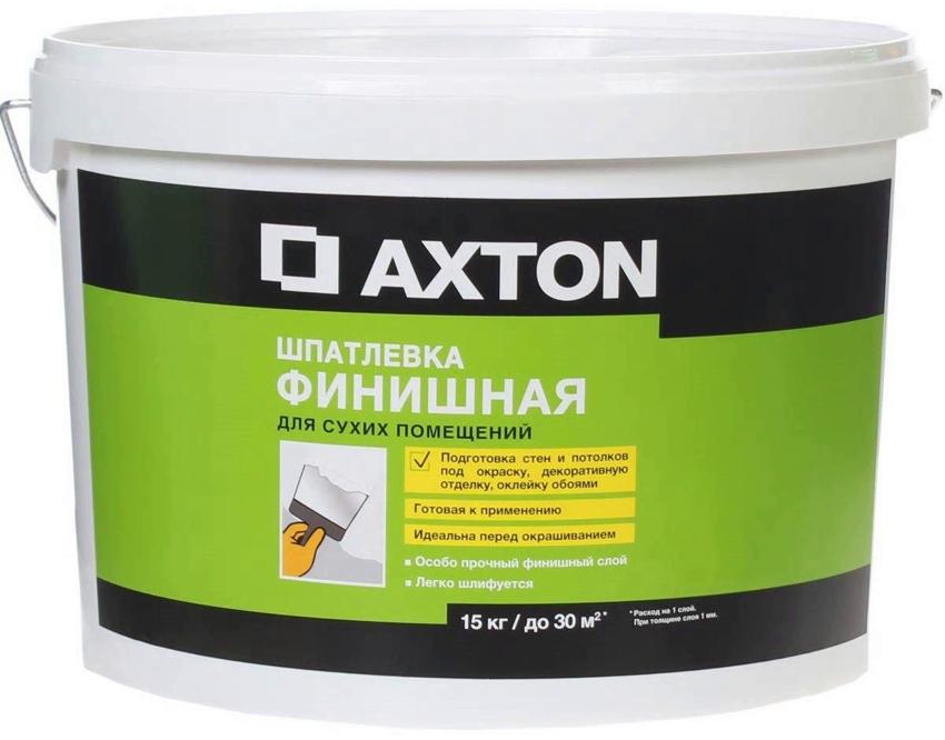 Шпаклевка Axton предназначена для использования в сухих помещениях