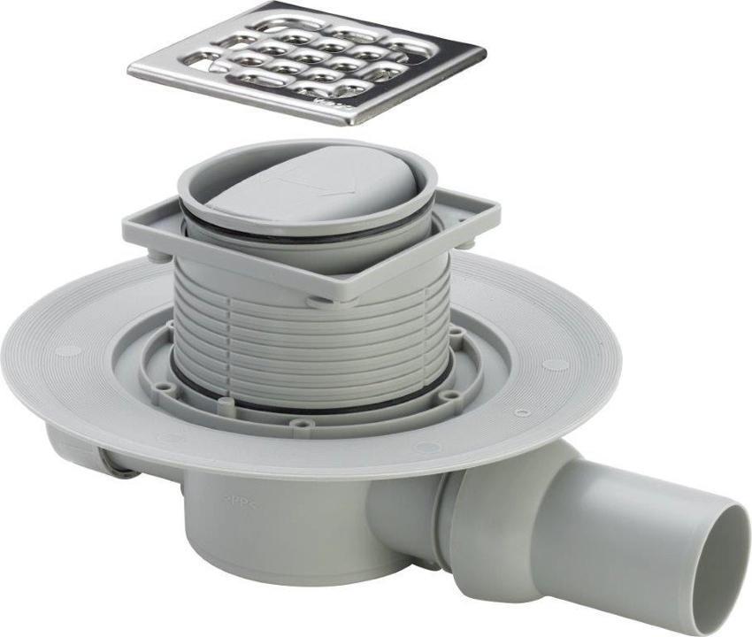 Средняя пропускная способность сифонов составляет 30 литров воды в минуту