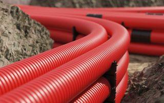 ПНД труба для кабеля: надежная защита электрокоммуникаций