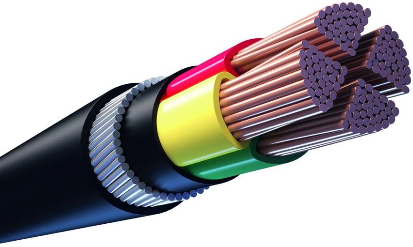 Для укладки под землей можно использовать только специальные виды кабеля