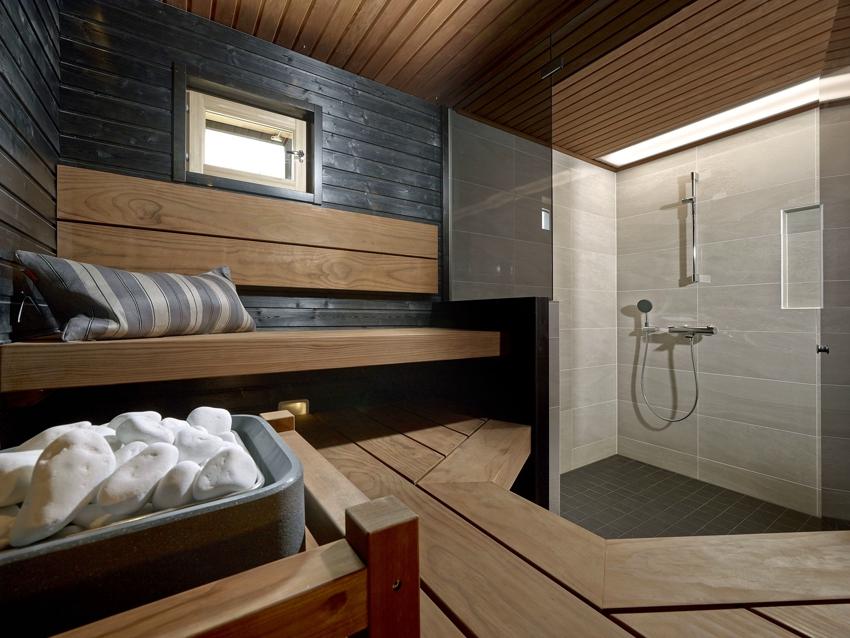 Для обустройства сауны в квартире потребуется выполнить перепланировку ванной комнаты