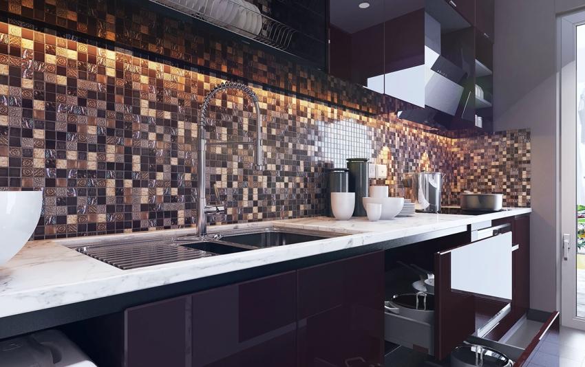 Затирочная смесь может совпадать по цвету с плиткой или иметь другой оттенок