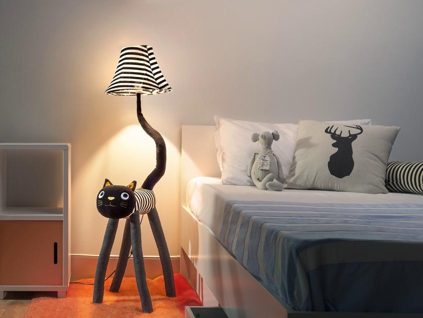 Лампы для детей отличаются особым оригинальным и веселым дизайном